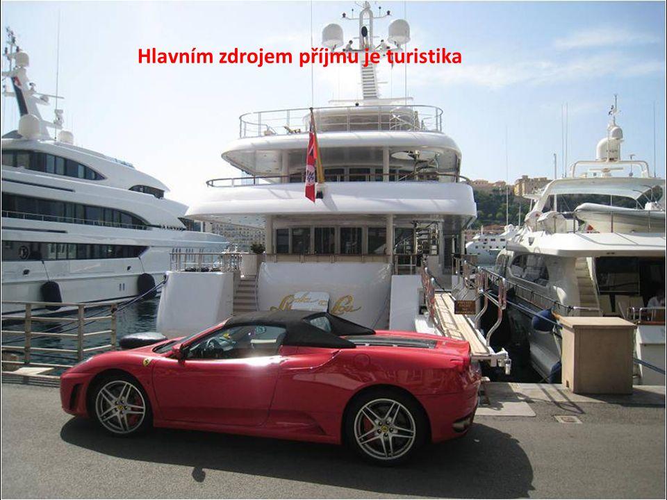 Hlavním zdrojem příjmu je turistika