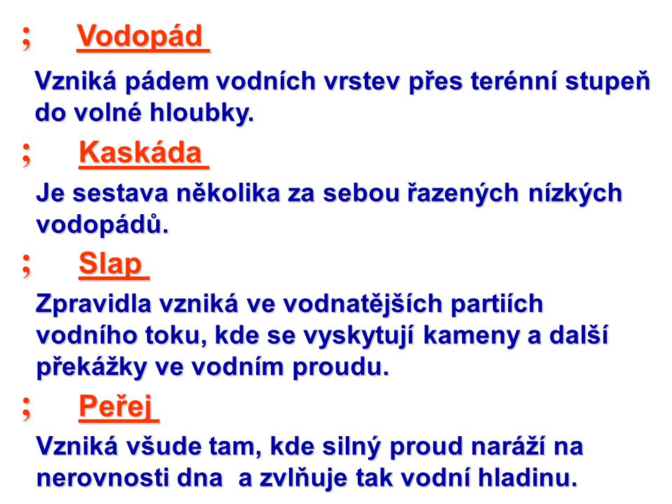 ; ; ; ; Vodopád Kaskáda Slap Peřej