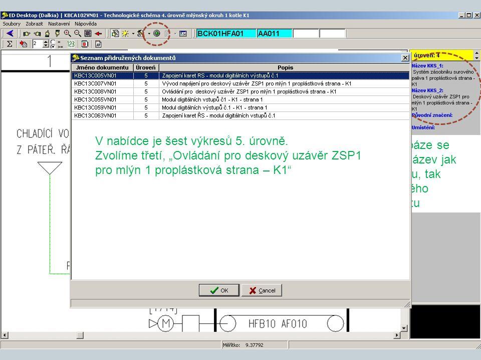 Signalizace přidružených dokumentů