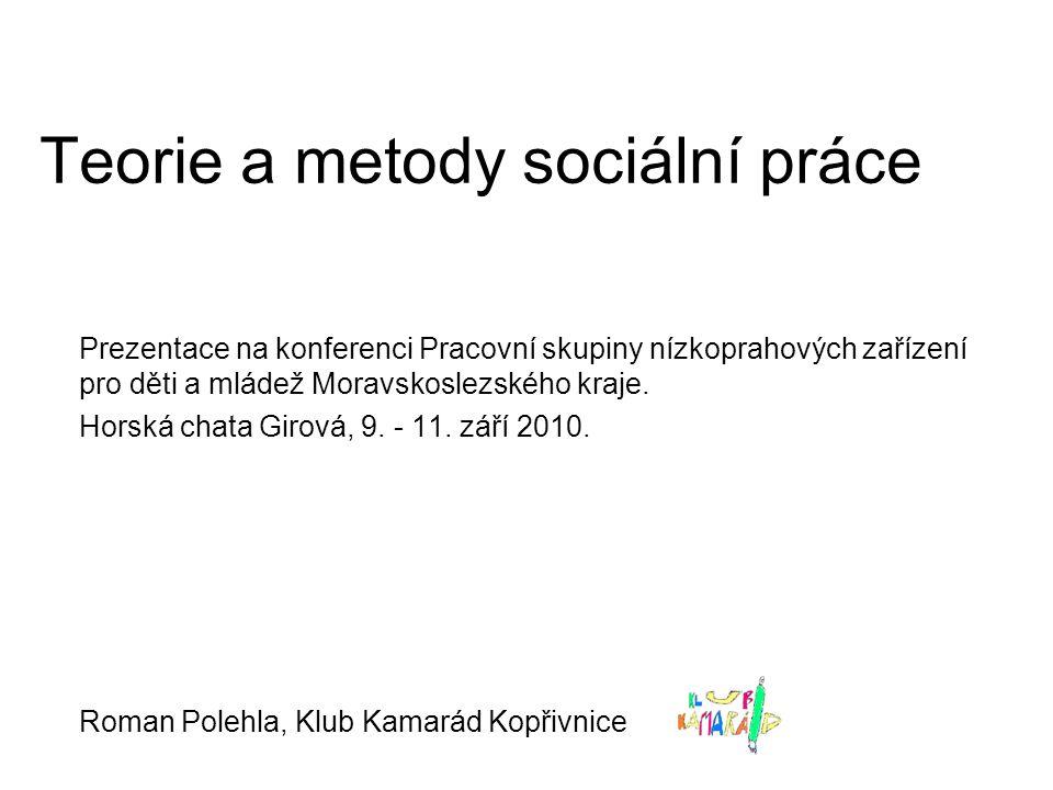 Teorie a metody sociální práce