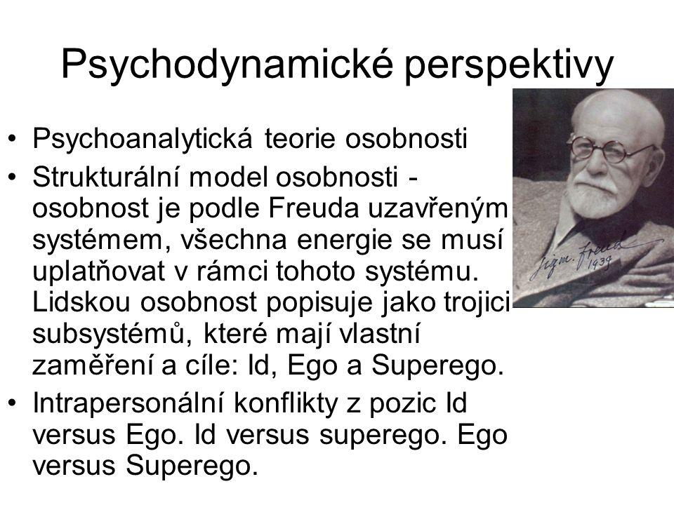 Psychodynamické perspektivy