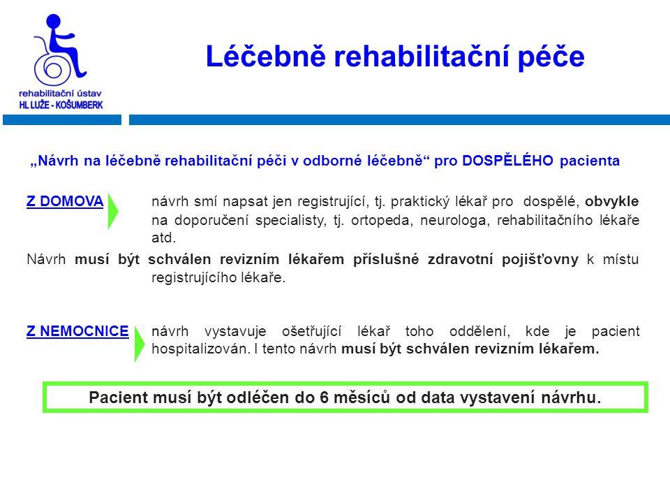 Léčebně rehabilitační péče