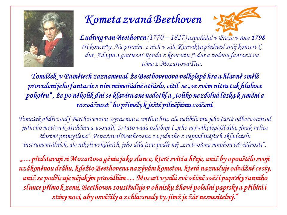Kometa zvaná Beethoven
