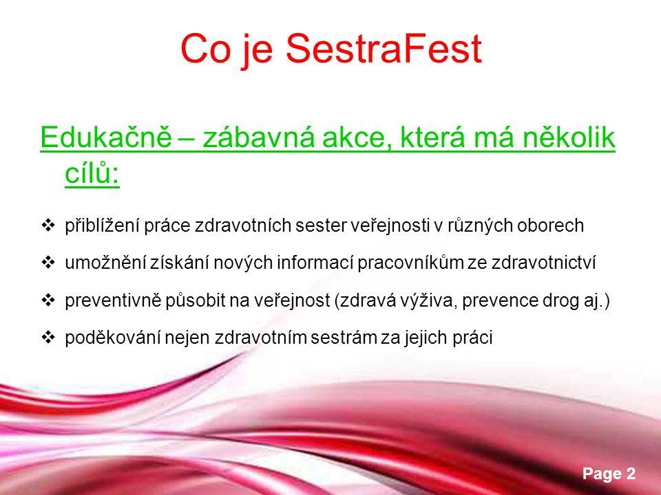 Co je SestraFest Edukačně – zábavná akce, která má několik cílů: