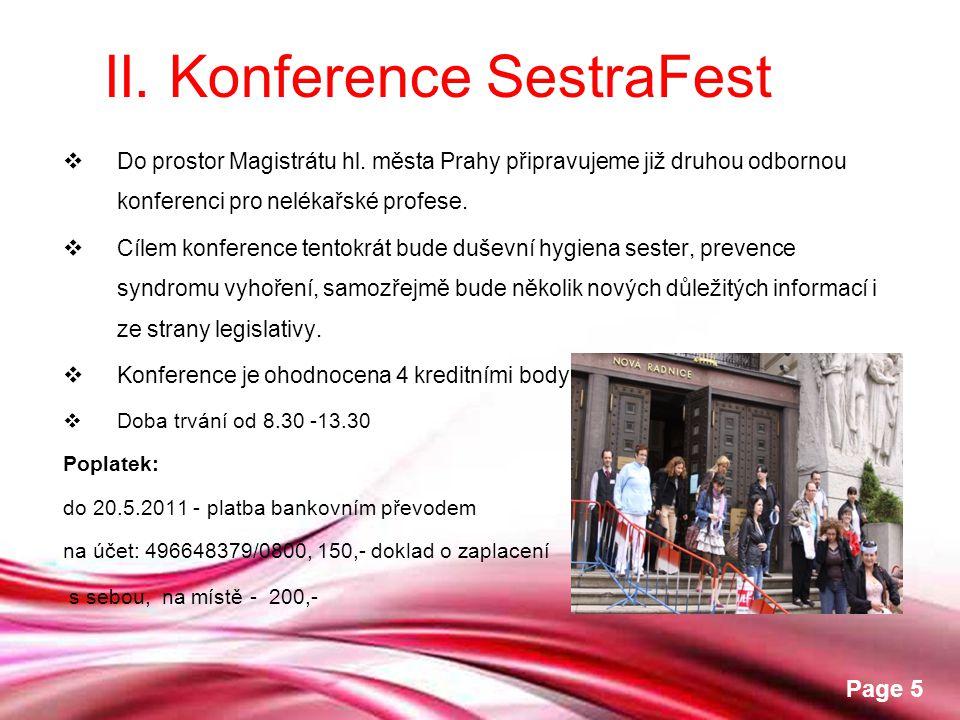 II. Konference SestraFest