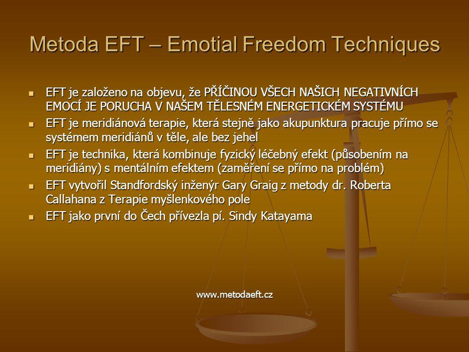 Metoda EFT – Emotial Freedom Techniques