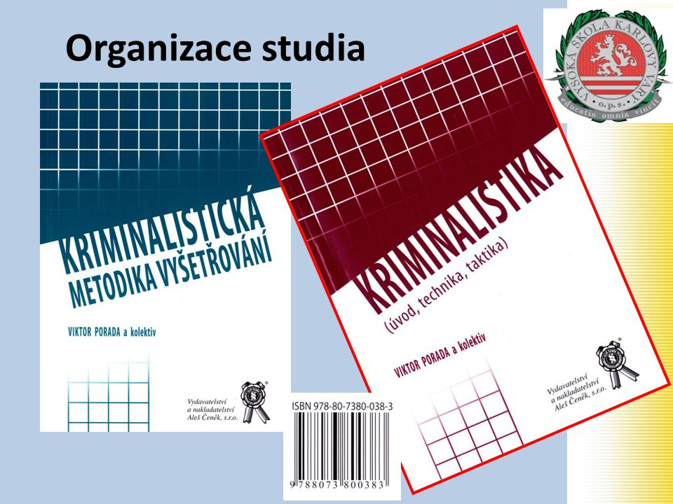 Organizace studia