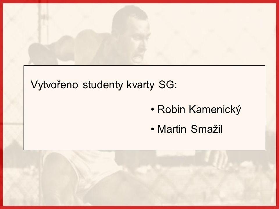Vytvořeno studenty kvarty SG: