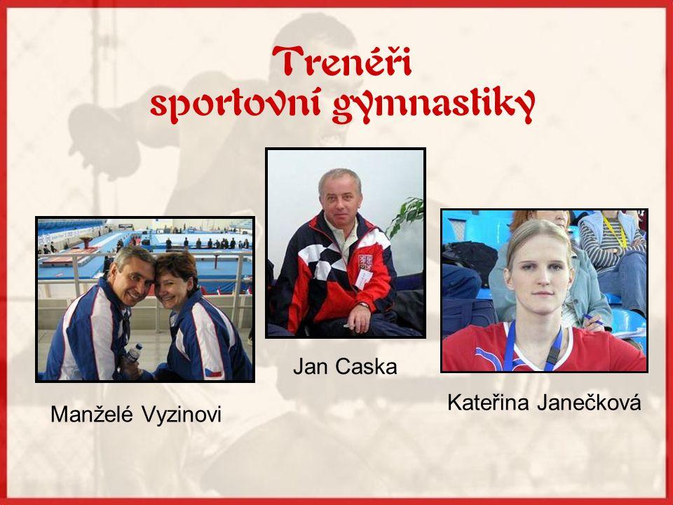 Trenéři sportovní gymnastiky