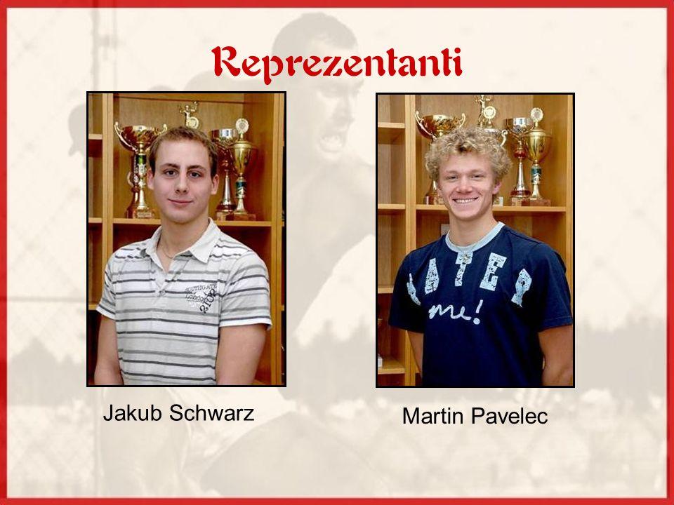 Reprezentanti Jakub Schwarz Martin Pavelec