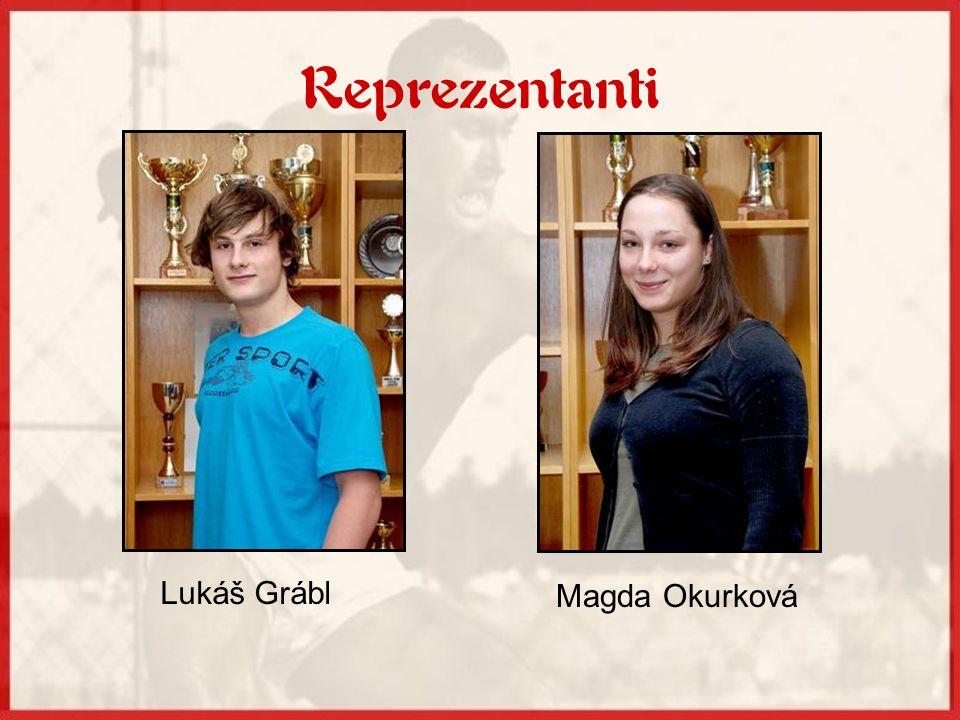 Reprezentanti Lukáš Grábl Magda Okurková