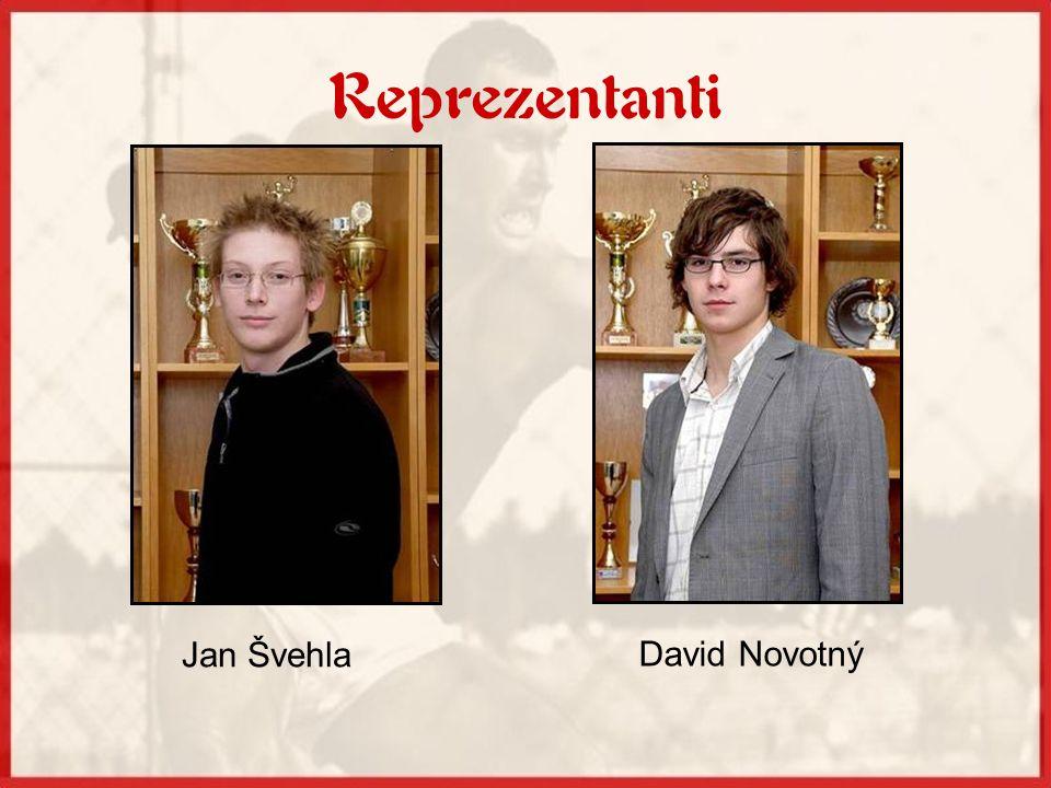 Reprezentanti Jan Švehla David Novotný