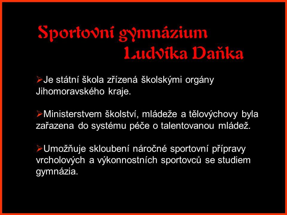 Sportovní gymnázium Ludvíka Daňka
