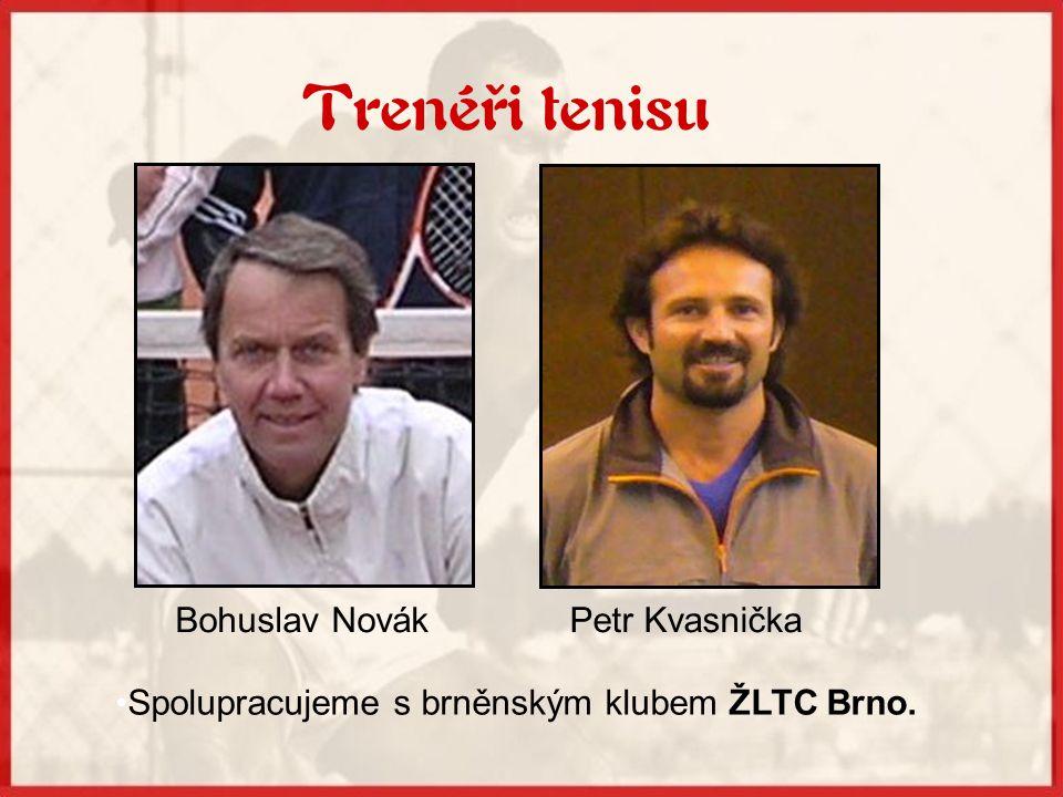 Spolupracujeme s brněnským klubem ŽLTC Brno.