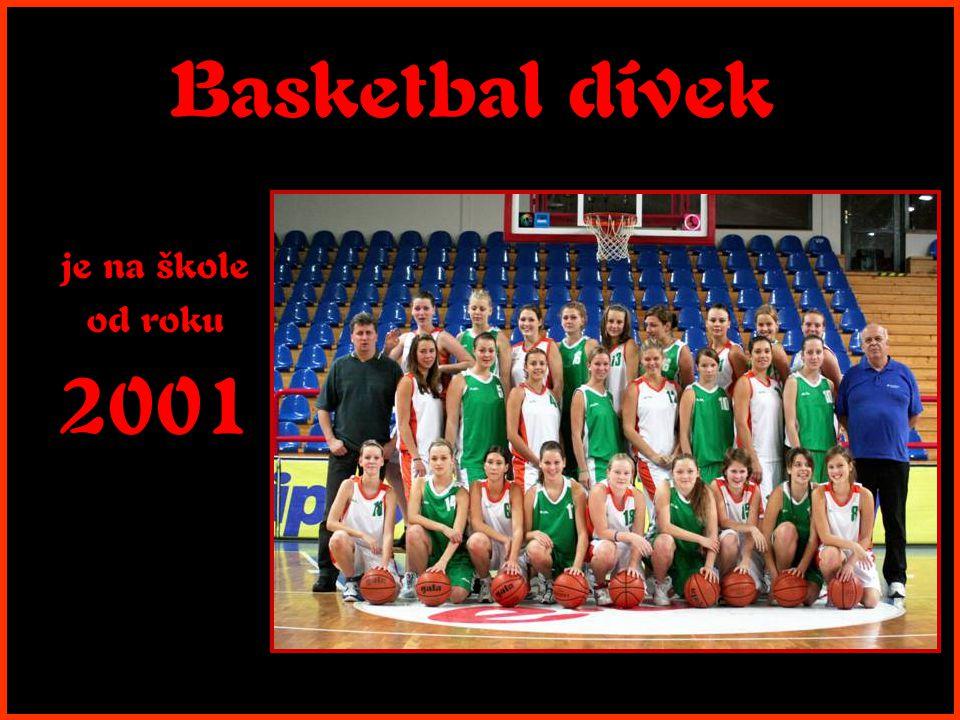 Basketbal dívek je na škole od roku 2001