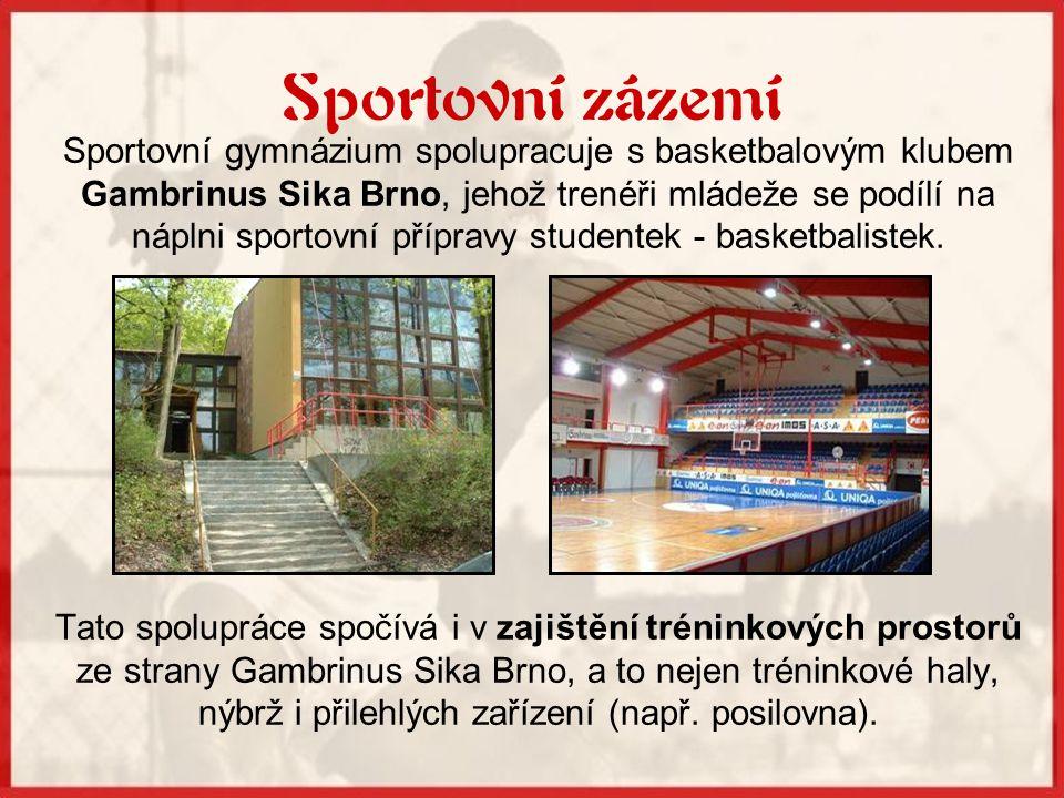 Sportovní zázemí