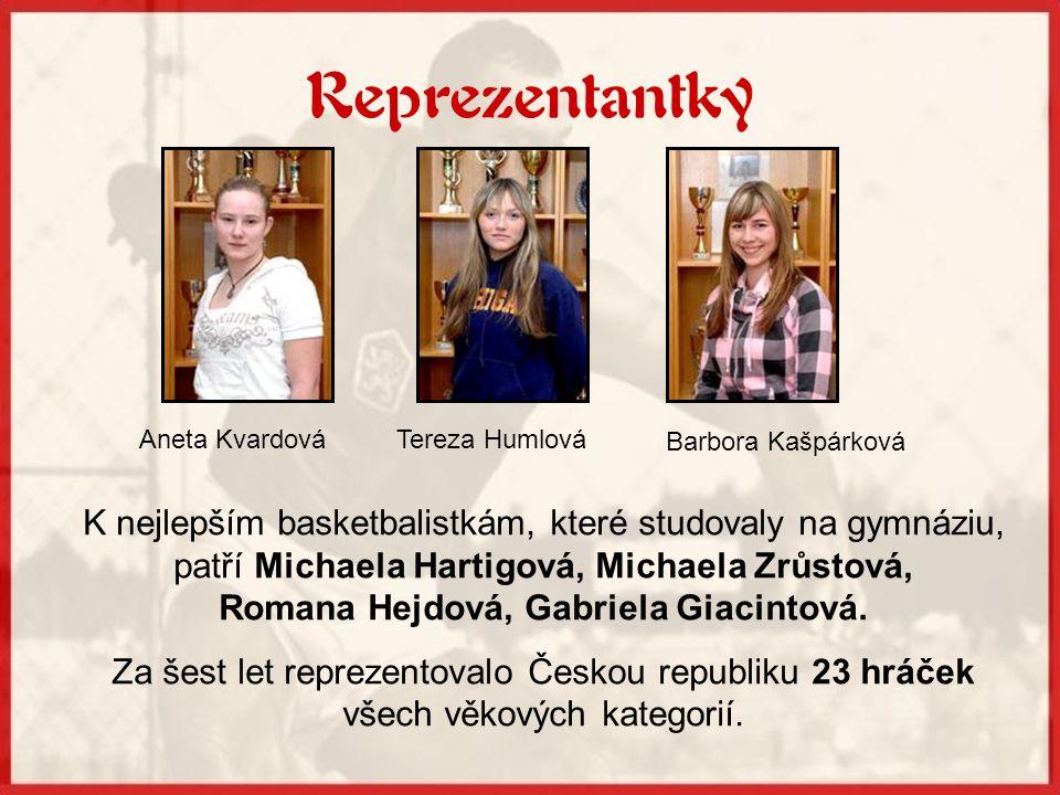 Romana Hejdová, Gabriela Giacintová.
