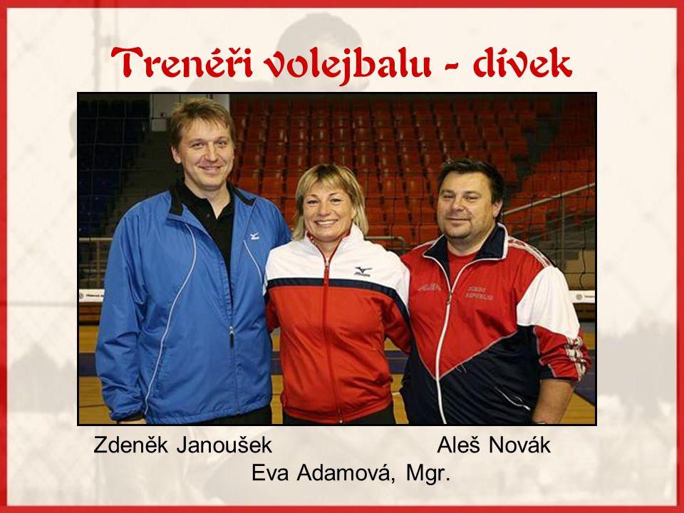 Trenéři volejbalu - dívek