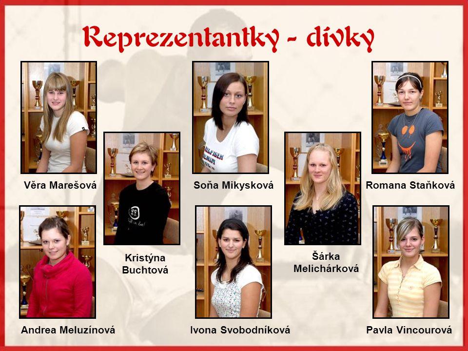Reprezentantky - dívky