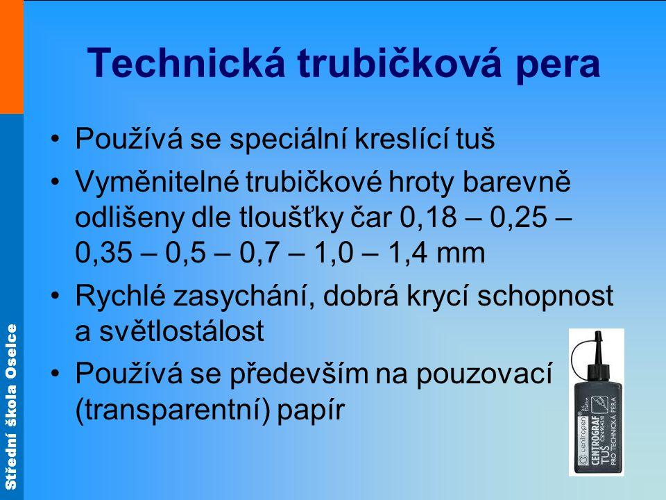 Technická trubičková pera