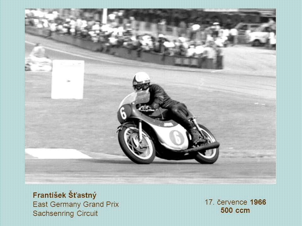 František Šťastný East Germany Grand Prix Sachsenring Circuit