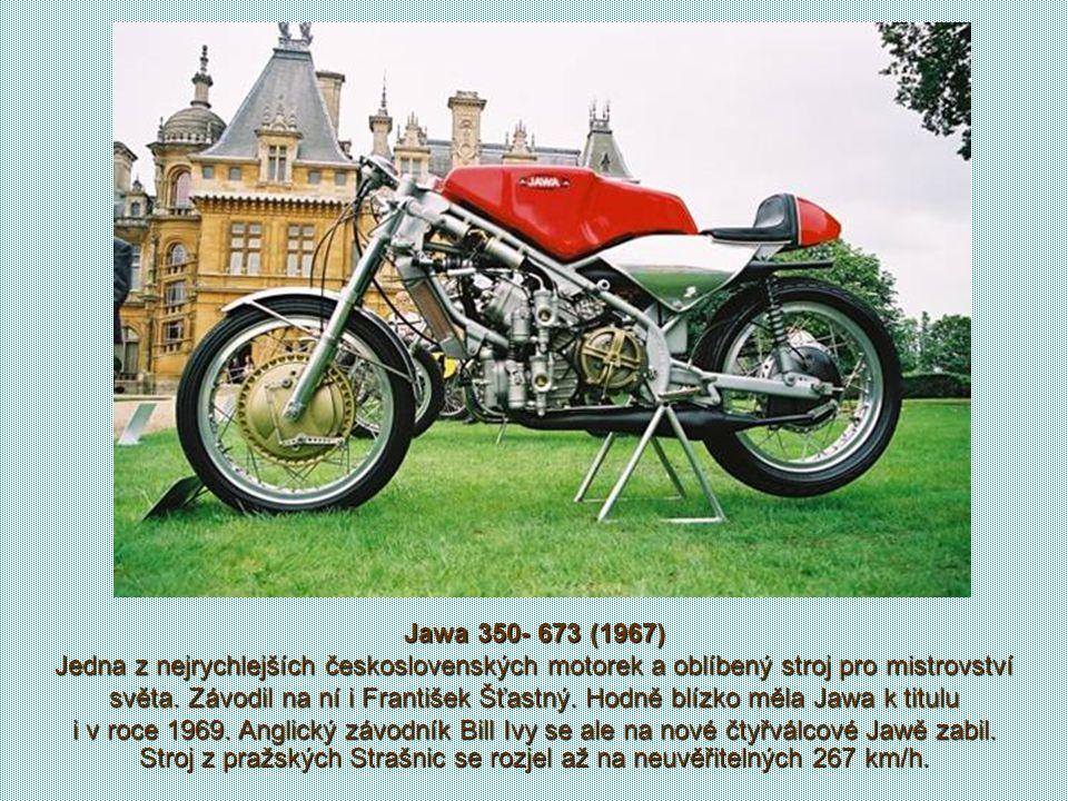Jawa 350- 673 (1967)