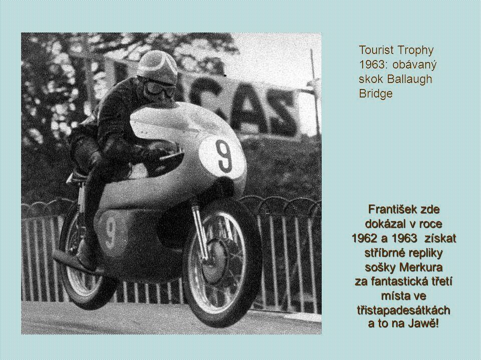 Tourist Trophy 1963: obávaný skok Ballaugh Bridge