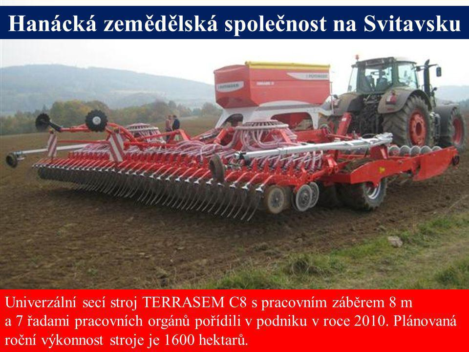 Hanácká zemědělská společnost na Svitavsku