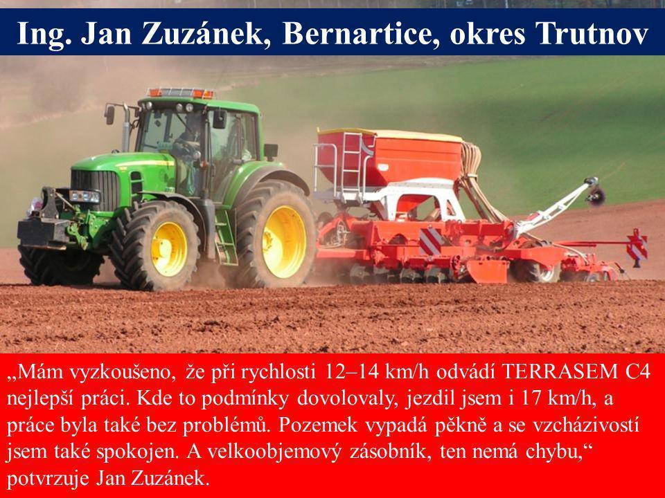 Ing. Jan Zuzánek, Bernartice, okres Trutnov