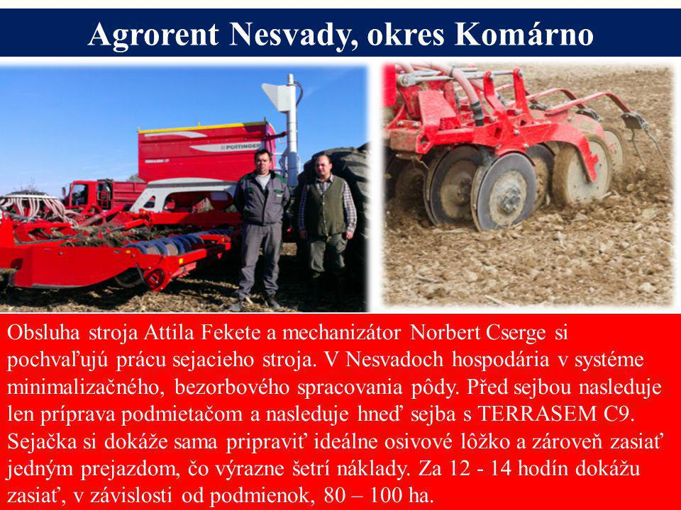 Agrorent Nesvady, okres Komárno Alois Pöttinger Maschinenfabrik GmbH