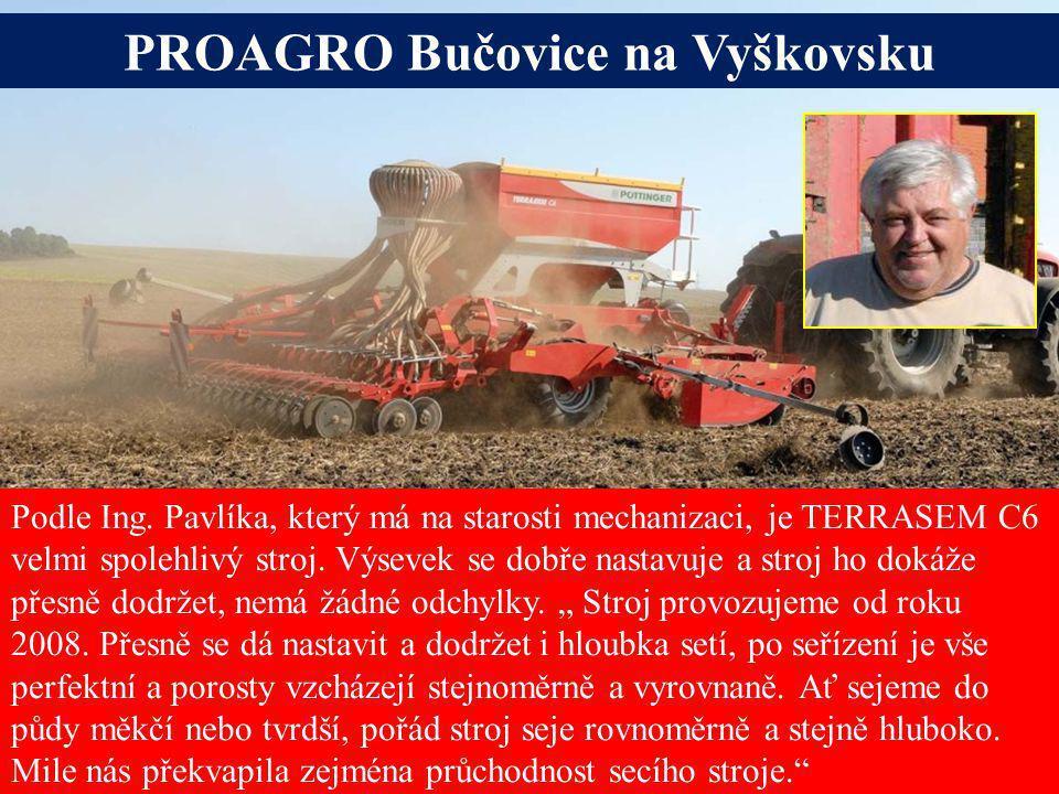 PROAGRO Bučovice na Vyškovsku Alois Pöttinger Maschinenfabrik GmbH