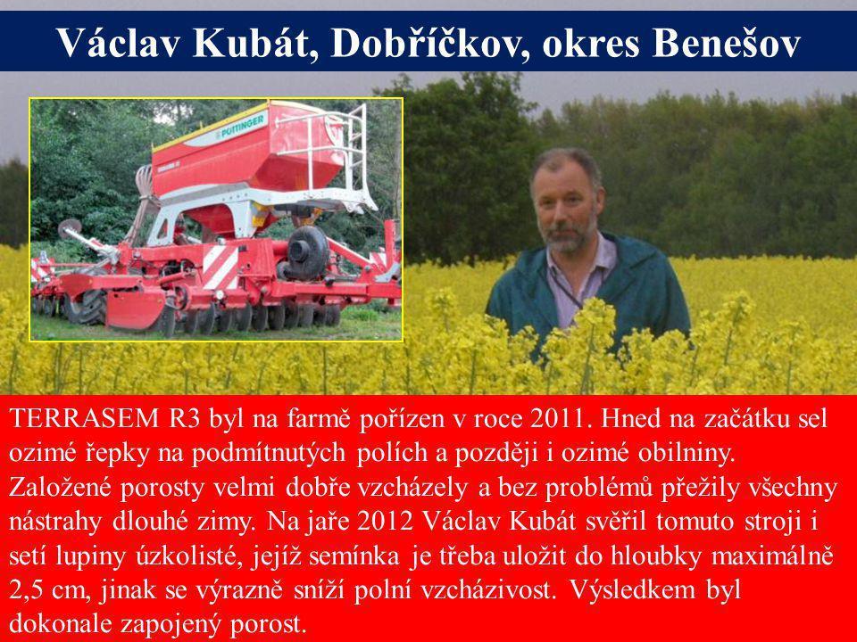 Václav Kubát, Dobříčkov, okres Benešov