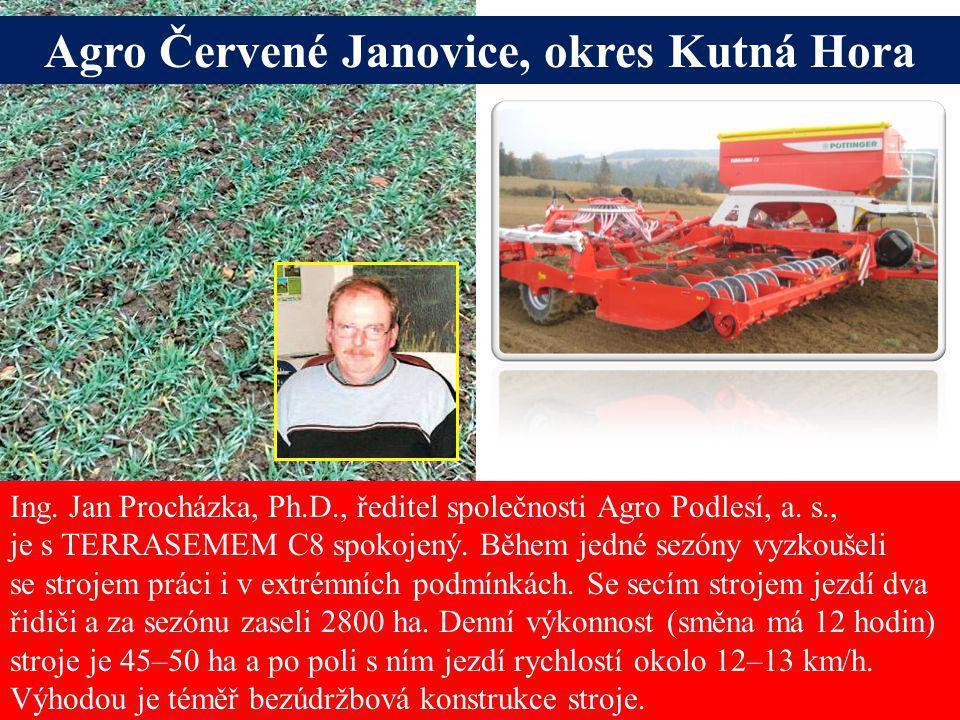 Agro Červené Janovice, okres Kutná Hora