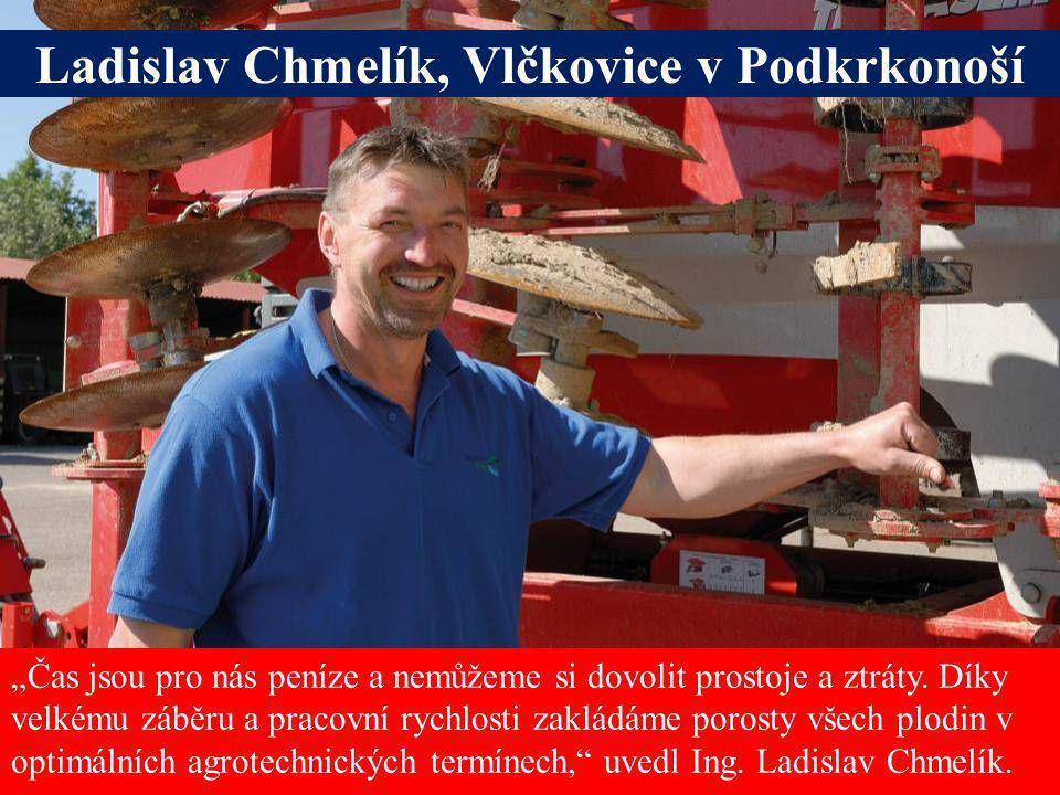 Ladislav Chmelík, Vlčkovice v Podkrkonoší