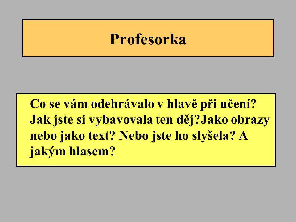 Profesorka