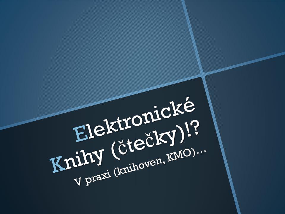 Elektronické Knihy (čtečky)!