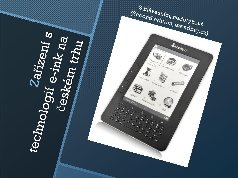 Zařízení s technologií e-ink na českém trhu