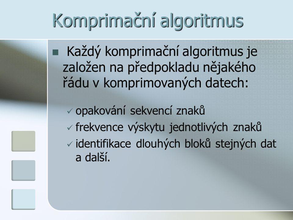Komprimační algoritmus