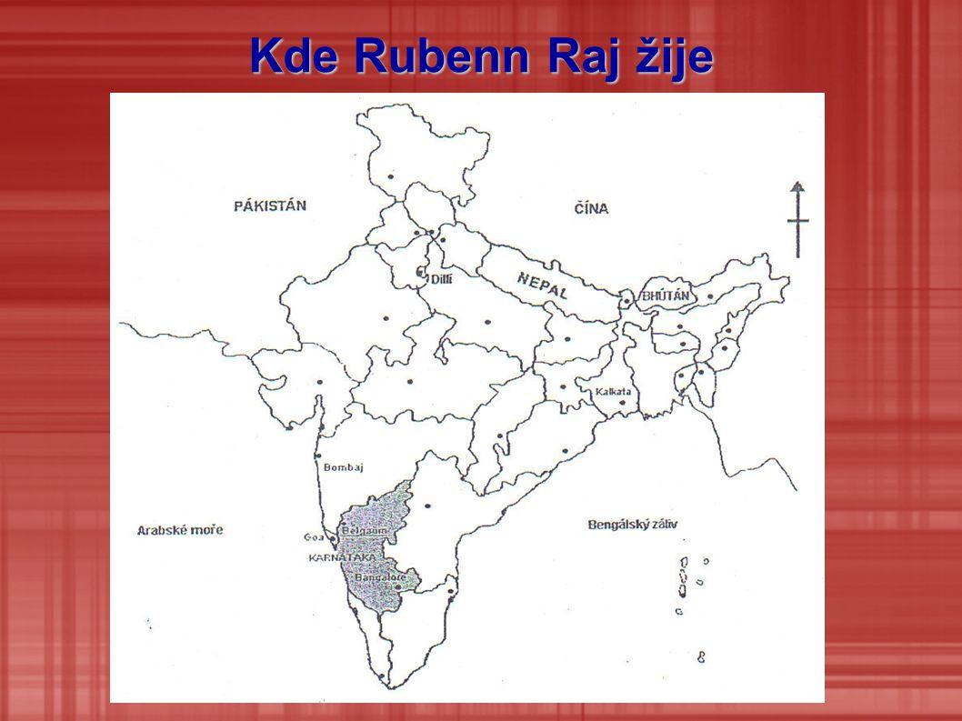 Kde Rubenn Raj žije