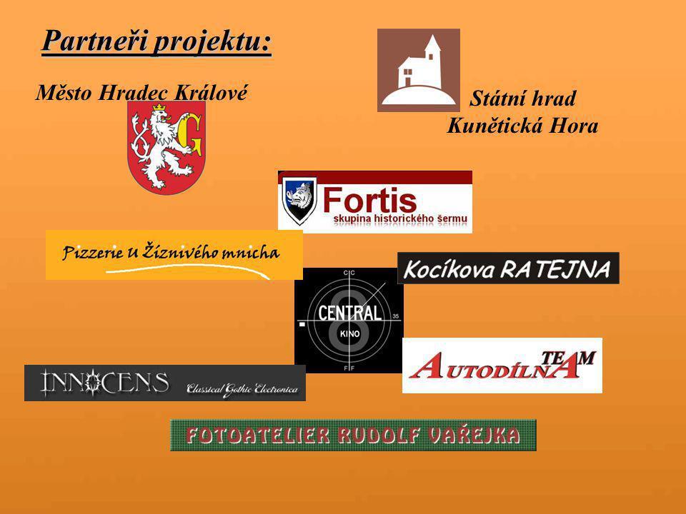 Partneři projektu: Město Hradec Králové Státní hrad Kunětická Hora
