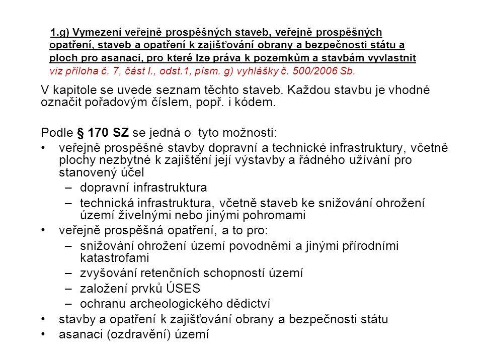 Podle § 170 SZ se jedná o tyto možnosti: