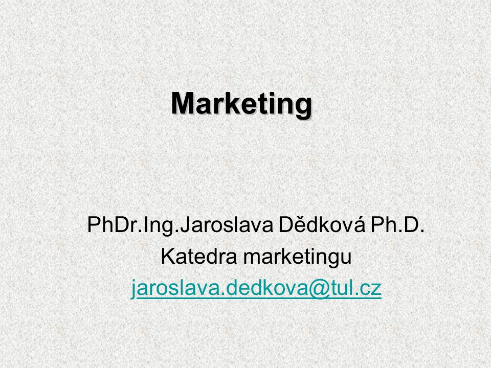 PhDr.Ing.Jaroslava Dědková Ph.D.