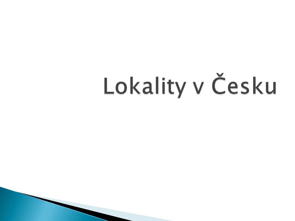 Lokality v Česku