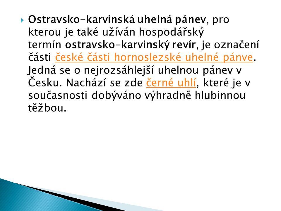 Ostravsko-karvinská uhelná pánev, pro kterou je také užíván hospodářský termín ostravsko-karvinský revír, je označení části české části hornoslezské uhelné pánve.