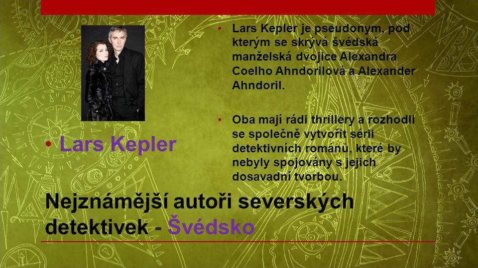 Nejznámější autoři severských detektivek - Švédsko