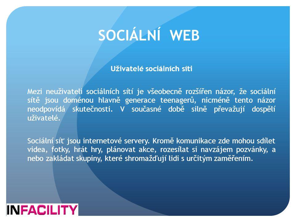 Uživatelé sociálních síti