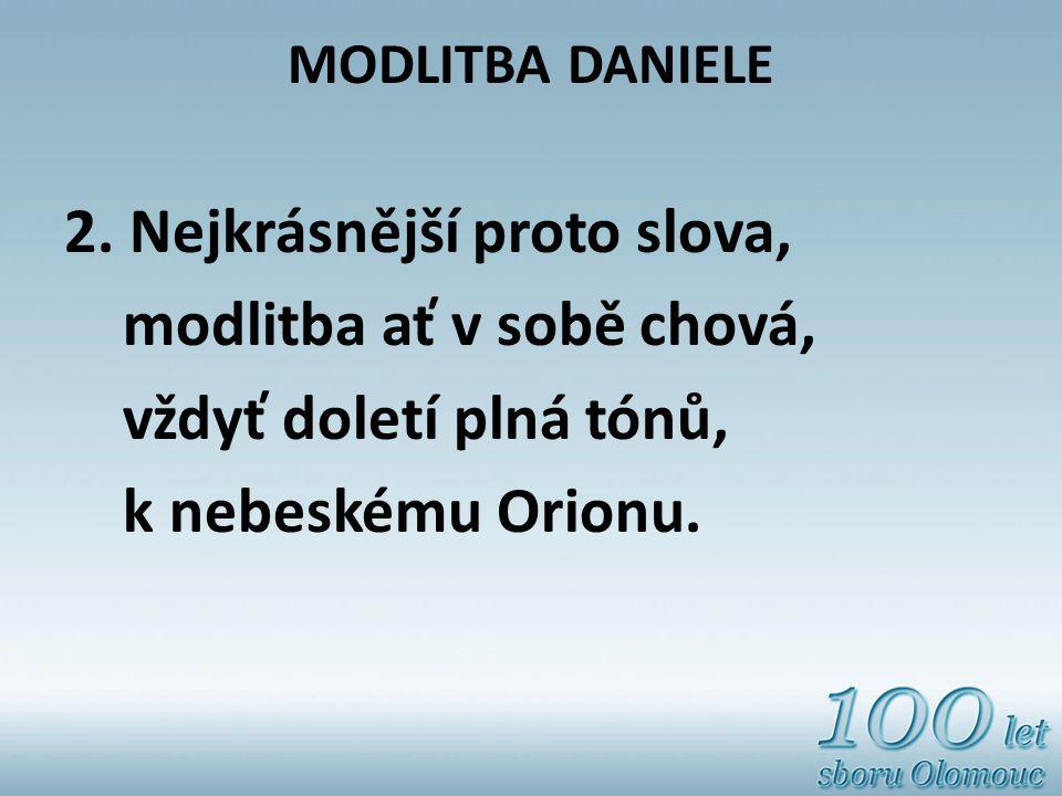 MODLITBA DANIELE 2.