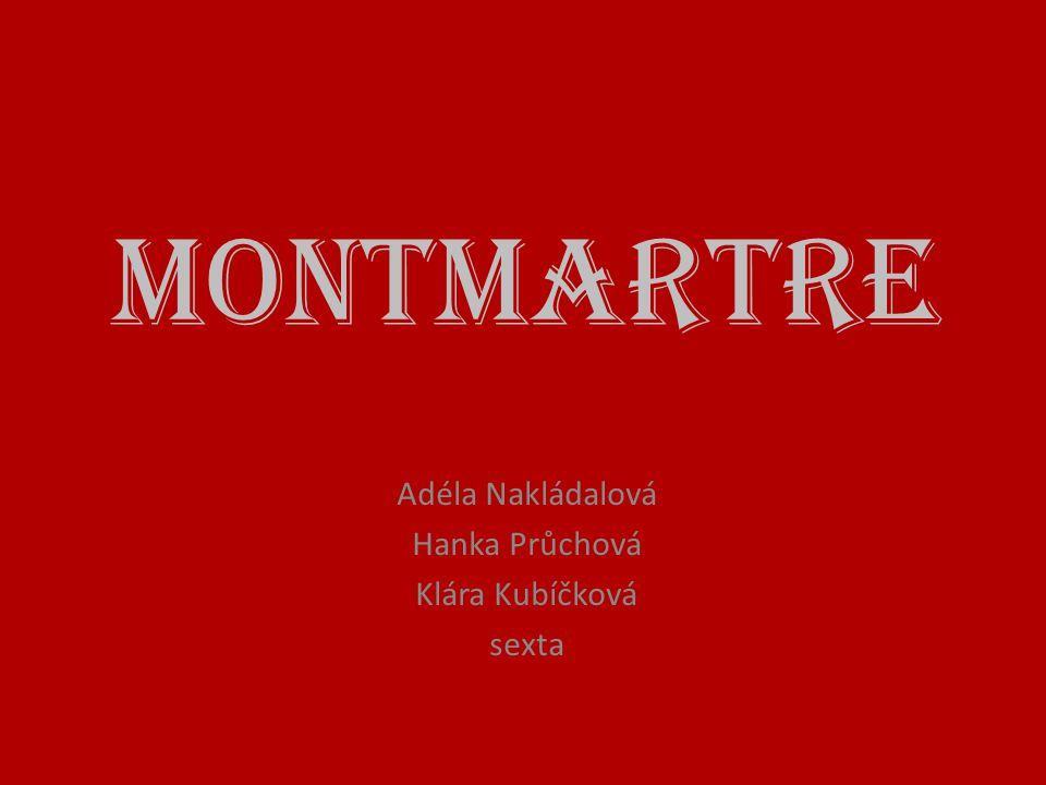 Adéla Nakládalová Hanka Průchová Klára Kubíčková sexta