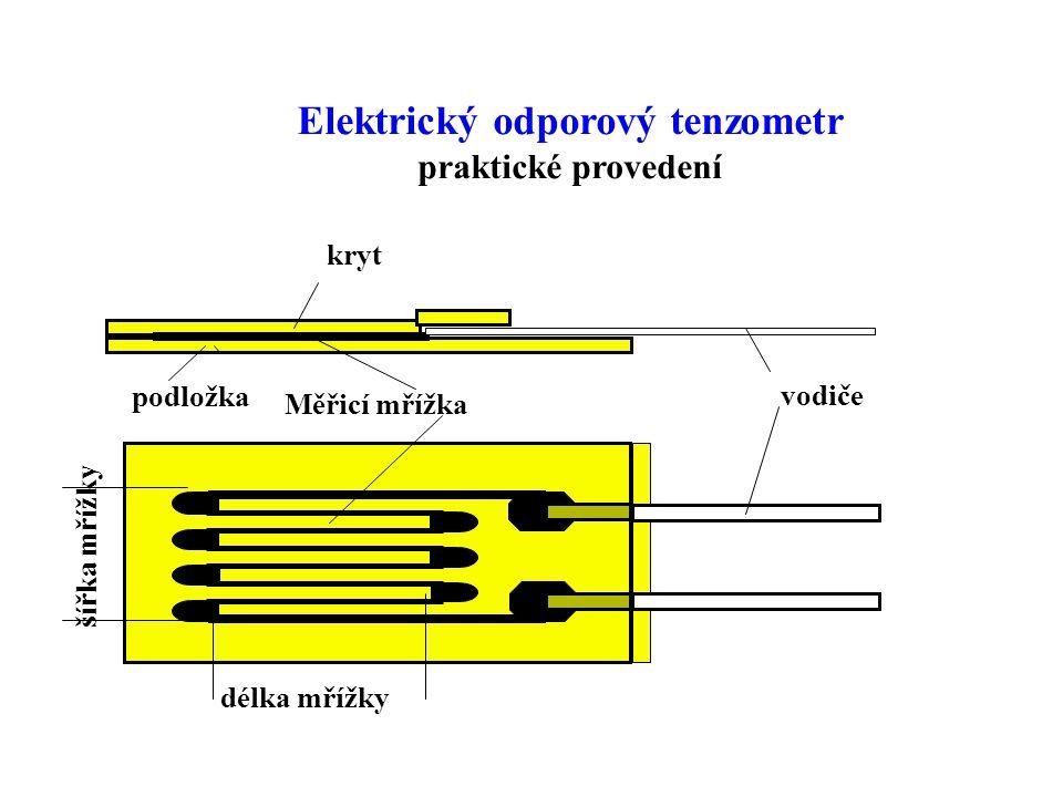 Elektrický odporový tenzometr