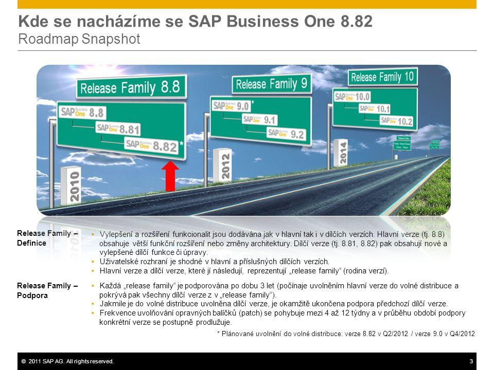 Kde se nacházíme se SAP Business One 8.82